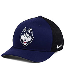 Nike Connecticut Huskies Aero Bill Mesh Swooshflex Cap