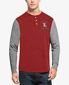 '47 Brand Men's Louisville Cardinals Downfield Henley T-Shirt
