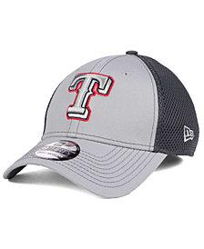 New Era Texas Rangers Greyed Out Neo 39THIRTY Cap