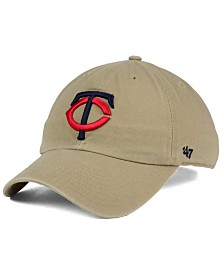 '47 Brand Minnesota Twins Khaki CLEAN UP Cap