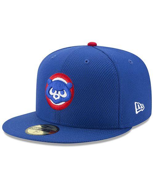 sports shoes 338f6 f37b5 ... New Era Chicago Cubs Batting Practice Diamond Era 59FIFTY Cap ...