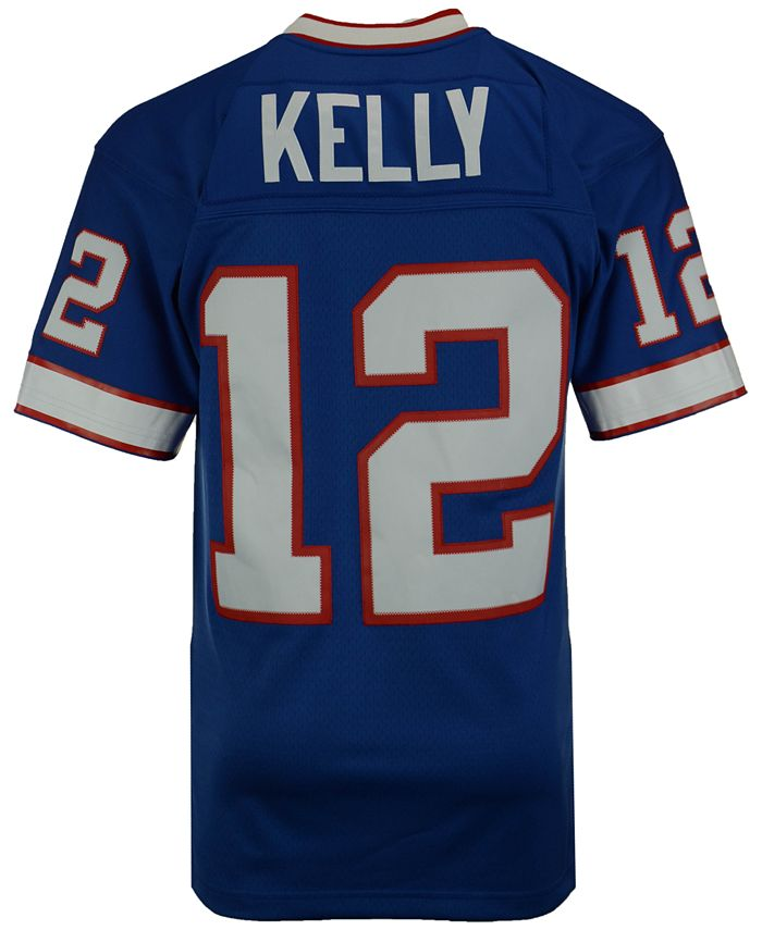 Men's Jim Kelly Buffalo Bills Replica Throwback Jersey