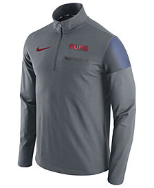 Nike Men's Chicago Cubs Half-Zip Elite Pullover