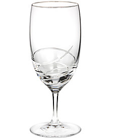 Waterford Stemware, Ballet Ribbon Essence Platinum Iced Beverage Glass