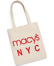 Macy's World Largest Store Canvas Tote, Created for Macy's