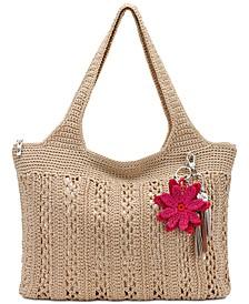 Casual Classic Crochet Tote