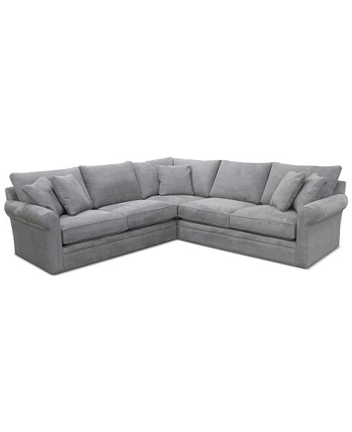 Doss Ii 3 Pc Fabric Sectional