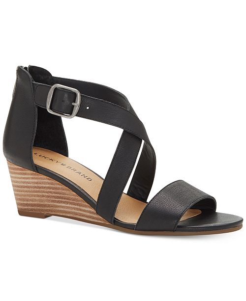 Lucky Brand Women's Jenley Wedges Women's Shoes yu8zE4Ui86