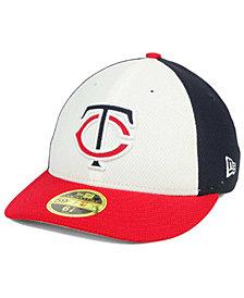 New Era Minnesota Twins Batting Practice Diamond Era Low Profile 59FIFTY Cap