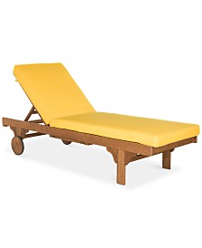 Jenne Outdoor Lounge with Side Table, Quick Ship