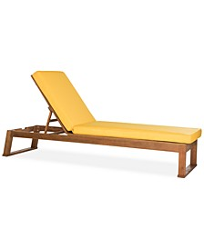 Farlee Outdoor Sun Lounger, Quick Ship
