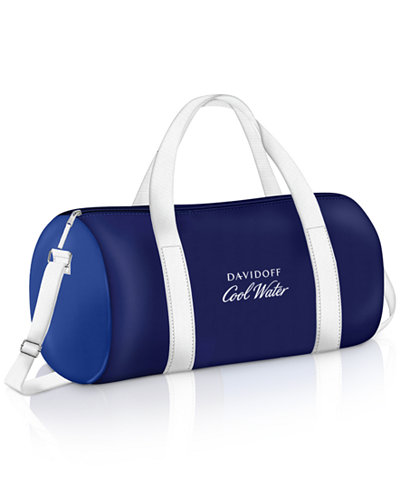 Receive a FREE Bag with any large spray purchase from the Davidoff Cool Water fragrance collection
