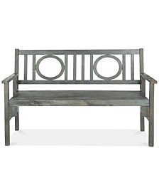 Narine Outdoor Folding Bench
