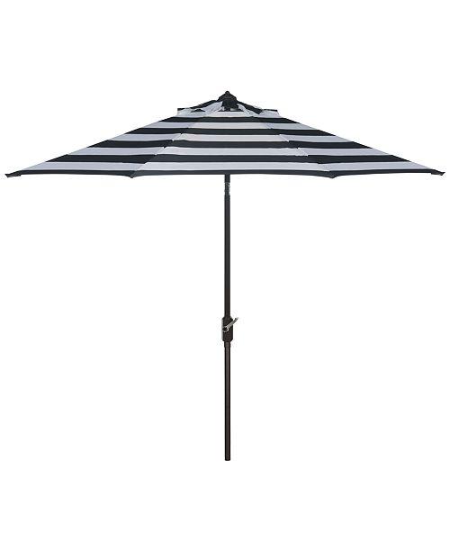 Safavieh Olton Outdoor 9' Umbrella, Quick Ship
