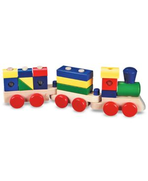 Melissa and Doug Toy, Stacking Train 518118