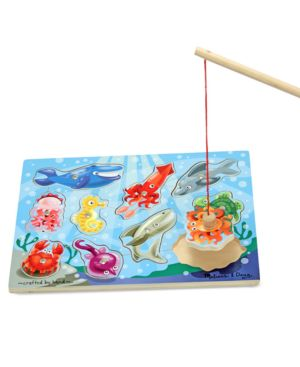 Melissa and Doug Toy, Fishing Magnetic Puzzle Game 518149