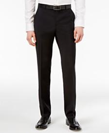 HUGO Men's Black Slim-Fit Pants
