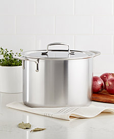 Demeyere 5-Plus Stainless Steel 8-Qt. Stockpot