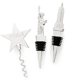 Macy's Wine Stopper 3-Pc. Set, Created for Macy's