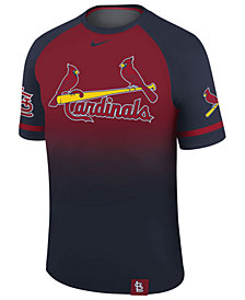 Nike Men's St. Louis Cardinals Dri-Fit Sublimated Raglan T-Shirt