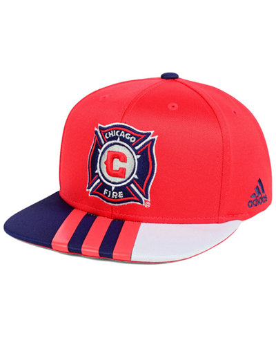 adidas Chicago Fire Authentic Team Snapback Cap
