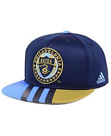 adidas Philadelphia Union Authentic Team Snapback Cap