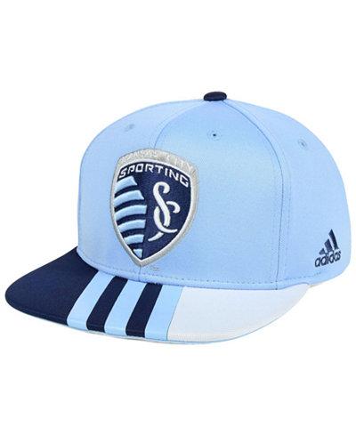 adidas Sporting Kansas City Authentic Team Snapback Cap