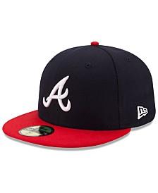 New Era Kids' Atlanta Braves Authentic Collection 59FIFTY Cap