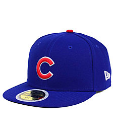 New Era Kids' Chicago Cubs Authentic Collection 59FIFTY Cap