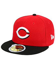 New Era Kids' Cincinnati Reds Authentic Collection 59FIFTY Cap
