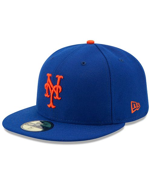 New Era Kids' New York Mets Authentic Collection 59FIFTY Cap