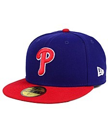Kids' Philadelphia Phillies Authentic Collection 59FIFTY Cap