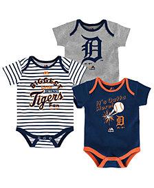 Majestic Detroit Tigers Homerun 3-Piece Set, Baby Boys (0-9 months)