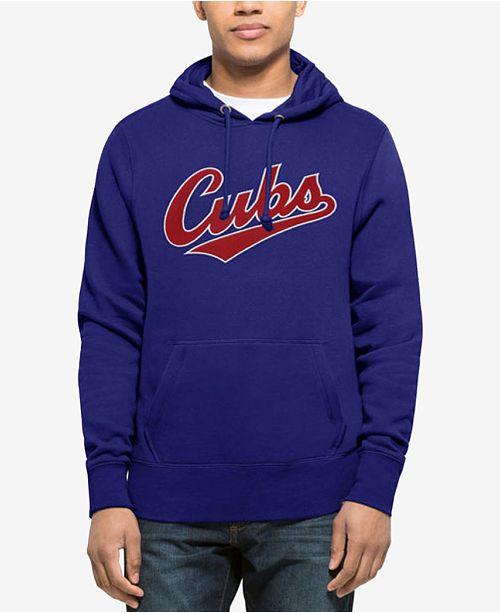 '47 Brand Men's Chicago Cubs Sport Raglan Hoodie