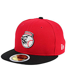 New Era Kids' Cincinnati Reds Batting Practice Diamond Era 59FIFTY Cap