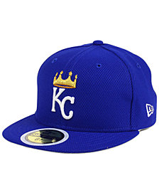 New Era Kids' Kansas City Royals Batting Practice Diamond Era 59FIFTY Cap