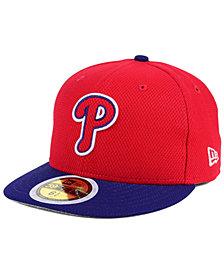 New Era Kids' Philadelphia Phillies Batting Practice Diamond Era 59FIFTY Cap