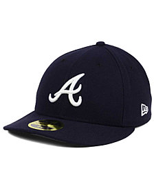 New Era Atlanta Braves Low Profile AC Performance 59FIFTY Cap