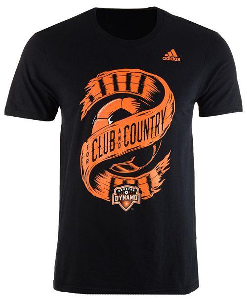 adidas Men's Houston Dynamo Club & Country T-Shirt