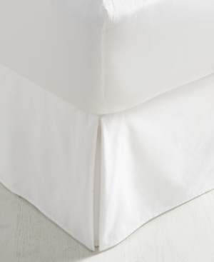 Charter Club Damask Supima Cotton 550Thread Count Queen Bedskirt Created for Macys Bedding