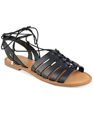 indigo rd. Baku Lace-Up Sandals Women