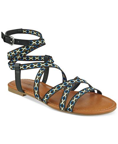 indigo rd. Camryn Flat Gladiator Sandals