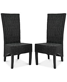Larne Set of 2 Dining Chairs, Quick Ship