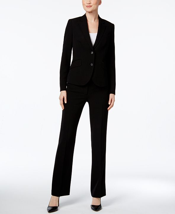 Anne Klein Executive Collection 3-Pc. Pants and Skirt Suit Set, Created for Macy's