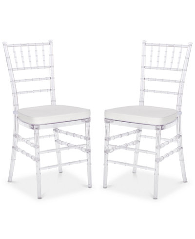 Claxton Set of 2 Dining Chairs, Quick Ship