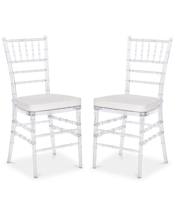 Safavieh Claxton Set of 2 Dining Chairs, Quick Ship