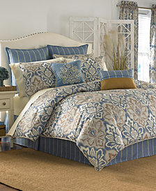 CLOSEOUT! Croscill Captain's Quarters 4-pc Bedding Collection