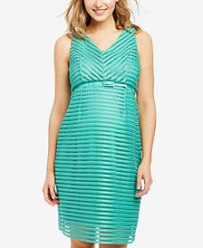 Motherhood Maternity Sleeveless A-Line Dress