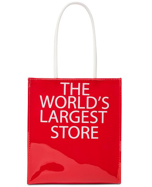 6365b60f914 Dani Accessories Macy's Worlds Largest Store Lunch Tote, Created for Macy's  ...