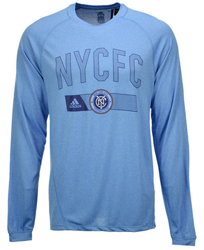 adidas Men's New York City FC Forward Long Sleeve T-Shirt